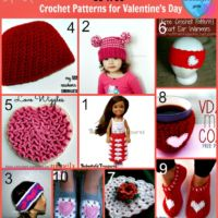 10 Free Crochet Patterns for Valentine's Day
