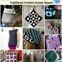 Crochet Patterns Using Traditional Crochet Granny Square