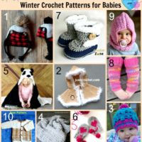 10 Free Winter Crochet Patterns for Babies