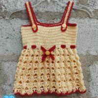 Honey Baby Sundress - free crochet pattern